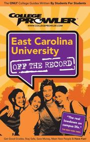 Cover of: East Carolina University | Leanne E. Smith