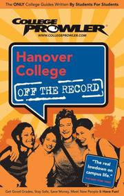 Cover of: Hanover College | Nicole Smith