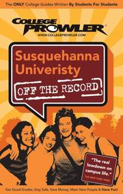 Cover of: Susquehanna University