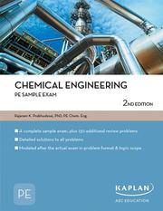 Cover of: Chemical Engineering PE Sample Exam