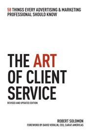 Cover of: The Art of Client Service