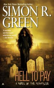 Cover of: Hell to Pay | Simon R. Green