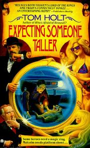 Cover of: Expecting Someone Taller