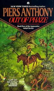 Cover of: Out of Phaze (Apprentice Adept) | Piers Anthony