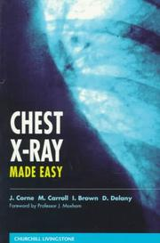 Cover of: Chest X-ray made easy |