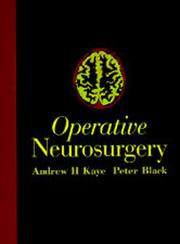 Cover of: Operative Neurosurgery, 2 Volumes