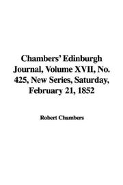 Cover of: Chambers