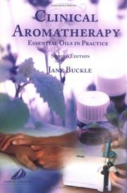 Cover of: Clinical aromatherapy