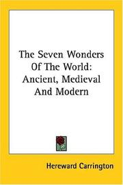 Cover of: The Seven Wonders Of The World