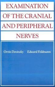 Cover of: Examination of the cranial and peripheral nerves