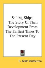 Cover of: Sailing ships