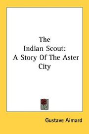 Cover of: The Indian scout