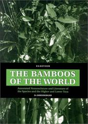 Cover of: bamboos of the world | D. Ohrnberger