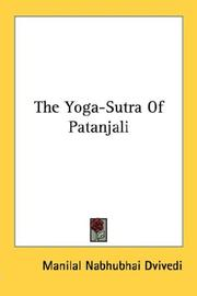 Cover of: The Yoga-Sutra Of Patanjali