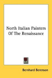 Cover of: North Italian Painters Of The Renaissance