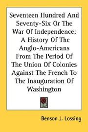 Cover of: Seventeen Hundred And Seventy-Six Or The War Of Independence