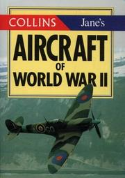 Cover of: Collins/Jane's aircraft of World War II