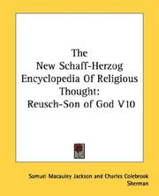 Cover of: The New Schaff-Herzog Encyclopedia Of Religious Thought |