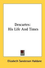 Cover of: Descartes