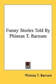 Cover of: Funny Stories Told By Phineas T. Barnum