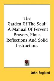 Cover of: The Garden Of The Soul