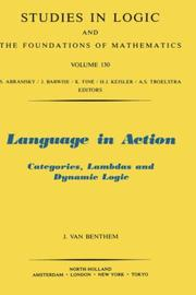 Cover of: Language in action