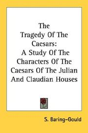 The tragedy of the Caesars by Baring-Gould, S.
