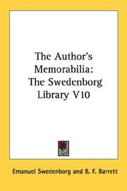 Cover of: The Author's Memorabilia