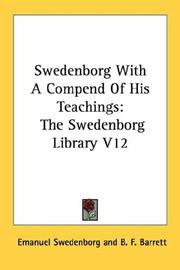 Cover of: Swedenborg With A Compend Of His Teachings
