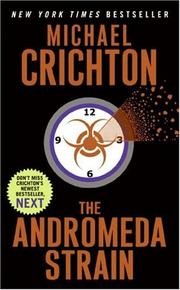 Cover of: The Andromeda Strain | Michael Crichton