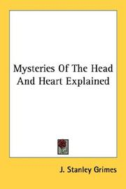 Cover of: Mysteries Of The Head And Heart Explained