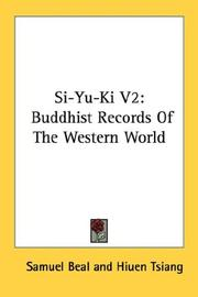 Cover of: Si-Yu-Ki V2 | Hiuen Tsiang