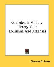 Cover of: Confederate Military History V10