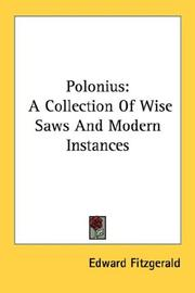 Cover of: Polonius