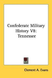 Cover of: Confederate Military History V8