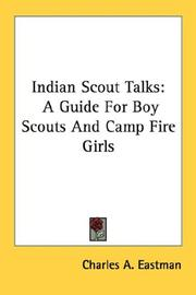 Cover of: Indian Scout Talks | Charles A. Eastman