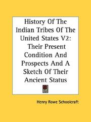 Cover of: History Of The Indian Tribes Of The United States V2