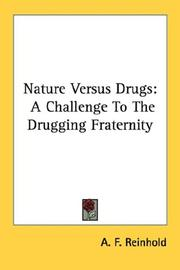 Cover of: Nature Versus Drugs | A. F. Reinhold