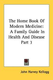 Cover of: The Home Book Of Modern Medicine