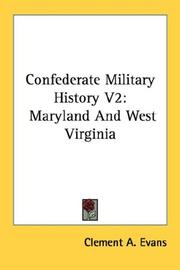 Cover of: Confederate Military History V2
