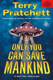 Cover of: Only you can save mankind