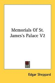 Cover of: Memorials Of St. James