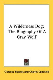 Cover of: A Wilderness Dog | Clarence Hawkes