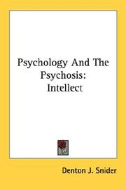 Cover of: Psychology And The Psychosis