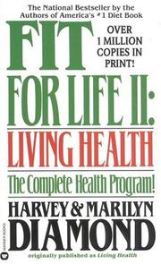 Cover of: Fit for Life ll | Harvey Diamond