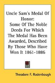 Cover of: Uncle Sam's Medal Of Honor