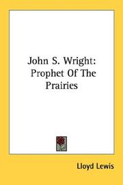 Cover of: John S. Wright
