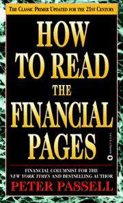 How to read the financial pages by Peter Passell