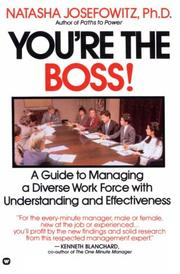 Cover of: You're the boss!
