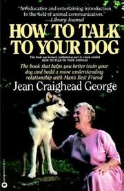 Cover of: How to Talk to Your Dog